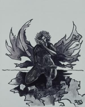 Brigitte Moreau Serre, Ange noir