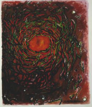 Cosmos rouge, Brigitte Moreau Serre