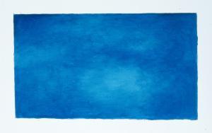 Etude de couleur bleue