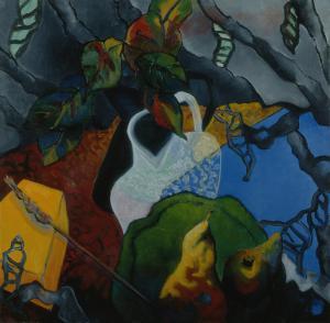 Brigitte Moreau Serre, Nature morte aux poires