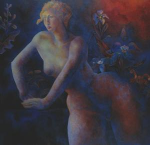 Nu féminin aux lys, Brigitte Moreau Serre