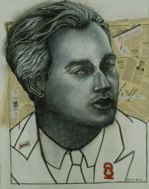 Brigitte Moreau Serre, Portrait d'homme