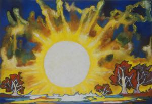 Soleil sur la forêt, Brigitte Moreau Serre